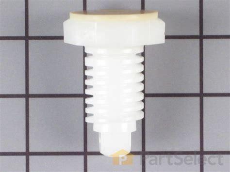 frigidaire 134548800 in plastic leveling leg partselect ca