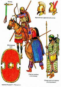 Ancient Achaemenian Persian Army Note the Sharpe Battle ...