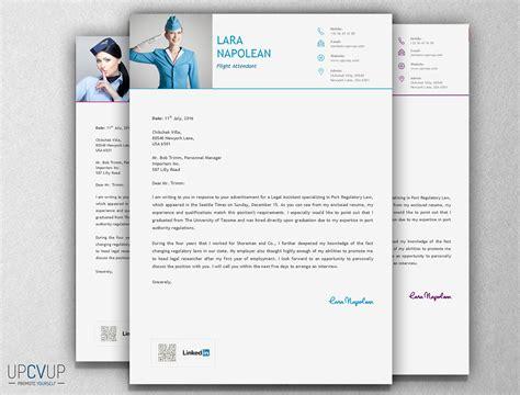 flight attendant resume template modern cv upcvup