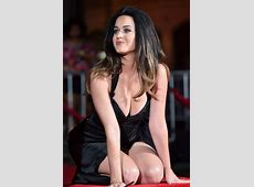 Katy Perry risks nip slip as she flaunts EXTREME cleavage