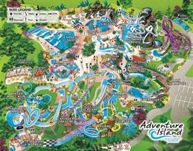 Busch Gardens Orlando Florida by Behind The Thrills Adventure Island
