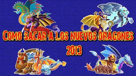 Como sacar a los Nuevos Dragones en Dragon City 2013 Mayo