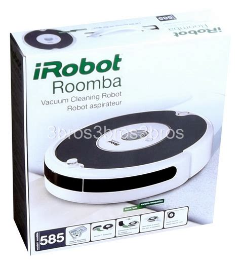 Floor Cleaning Robot Pdf by New Irobot Roomba 585 Pet Series Vacuum Cleaner Automatic