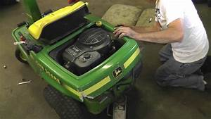 How To Change The Deck And Drive Belts On A John Deere