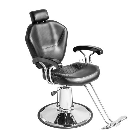 chaise hydraulique de coiffure foxhunter salon barber hydraulic reclining chair