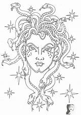 Coloring Adult Pages Medusa Books Crafts Greek Mythology Adults Hair Christmas Colouring Snake Discover Disney Paper Information Printables sketch template