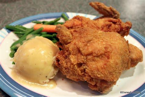disney cuisine best disney fried chicken the disney food