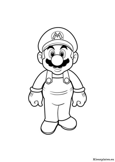 Kleurplaten Mario Bros by Mario Bros Kleurplaat 94533 Kleurplaat Glas En