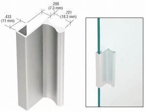 Griffe Für Glastüren Ohne Bohrung : crl satin anodized aluminum 3 pull with 7 16 lip for ~ A.2002-acura-tl-radio.info Haus und Dekorationen
