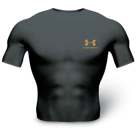 Tshirt Armour Biru armour 174 heat gear t shirt 118555