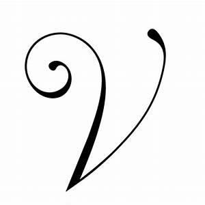 wedding monogram letters 3 With monogram letter v