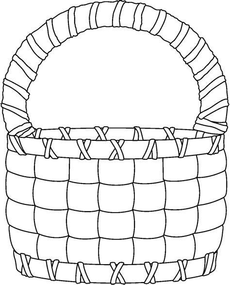 We present you huge collection of clipart in png formats. basket clipart black and white - Clip Art Library