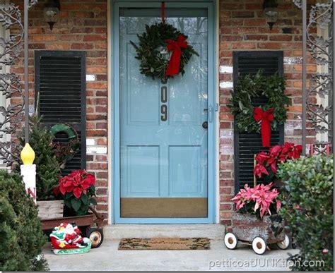christmas front door decor ideas day   days