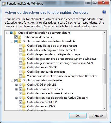 activer bureau a distance windows 7 technique de cédric beaudier test windows 7 remote server administration tools