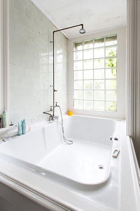 bathroom simple elegance spacious bathtub natural