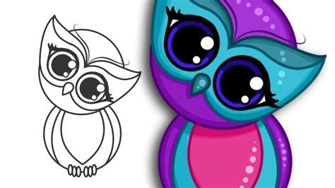 imagens de corujas em desenho  colorir lindas
