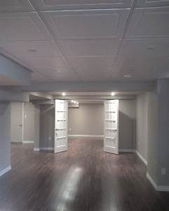 25 best basement ceilings ideas on pinterest finish With ceiling tile ideas for basement