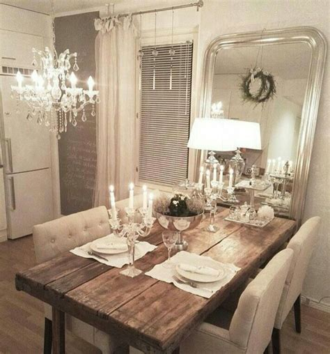 Esszimmer Le Shabby Chic by 1000 Ideas About Rustic Dining Rooms On