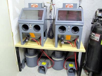 table top blast cabinet trinco 20 table top sand blasting cabinet overview pat