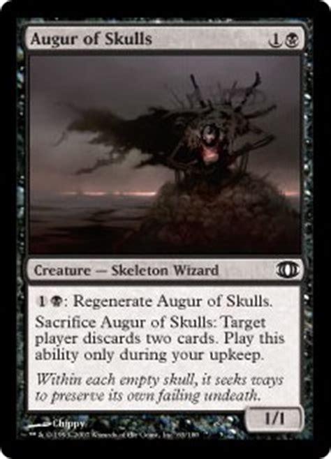 Mtg Black Skeleton Deck by Augur Of Skulls Future Sight Gatherer Magic The