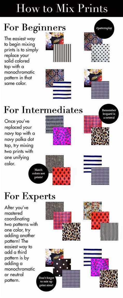 fashion mini series never mix prints cus