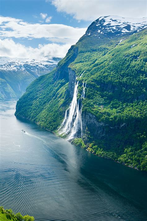 Fjord One by Geirangerfjord One Of Norway S Most Dramatic Fjords And