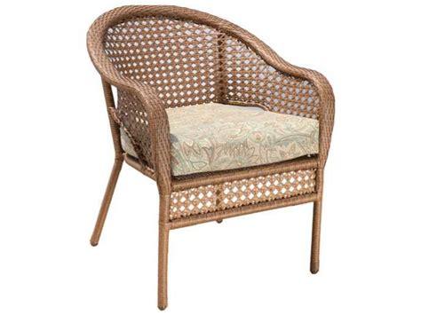 suncoast kona wicker cushion arm lounge chair 123 12