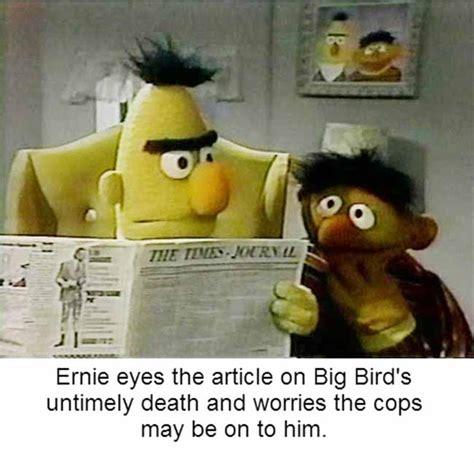 Ernie Meme - sesame street isn t how i remember it ttg vault