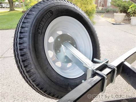 Boat Trailer Tire Mount by High Mount Spare Tire Carrier Boat Trailer Utility Cargo