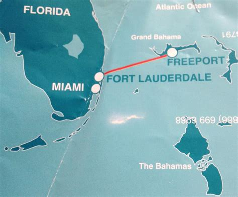 who knew a ferry from florida to the bahamas
