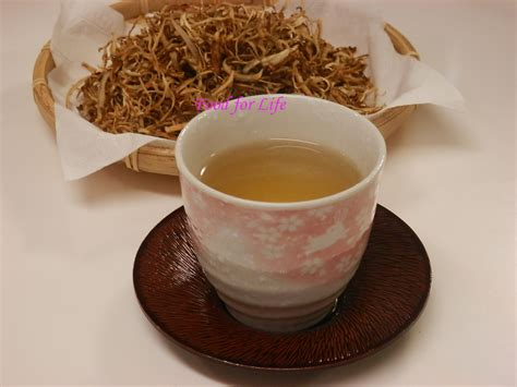 root tea food for life anti aging tea burdock root tea gobo cha