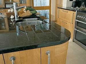 Plan De Travail Granit : plans de travail pour cuisine quip e ~ Dailycaller-alerts.com Idées de Décoration