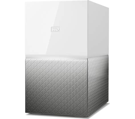 wd  cloud home duo nas drive  tb white deals pc world