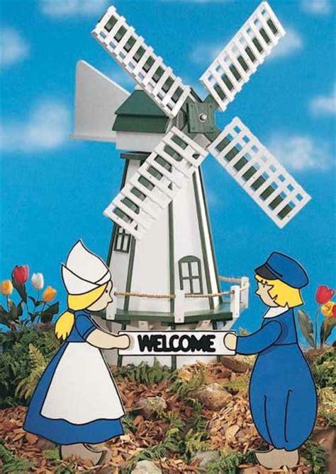 dutch windmill woodworking plan