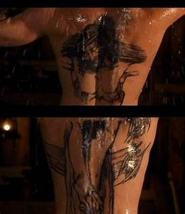 Boondock Saints' back tattoos. Yum. One of my favorite ...