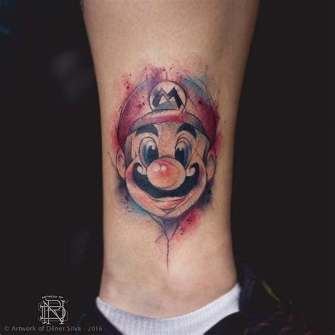 mario tattoo  tattoo ideas gallery