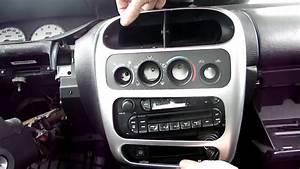 Dodge Neon Radio Removal