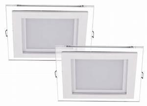 LED 10 Watt Decken Leuchte Wohnzimmer rund Metall Glas titanfarbig TRIO PAGENO