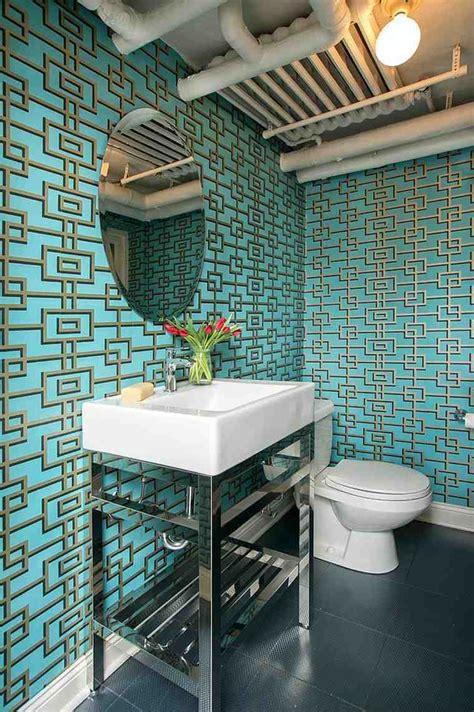 decoration toilettes elegante  moderne quelques idees