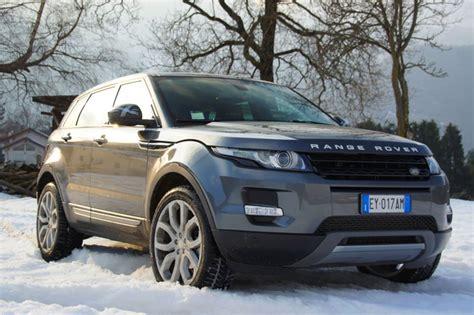 range rover evoque  sd prova su strada