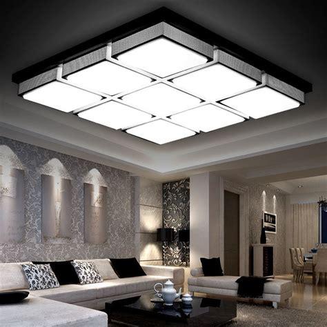 modern led ceiling lights  living room lamparas de