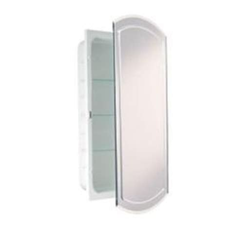 Kohler Oval Recessed Medicine Cabinet by Kohler 20 9 16 In W X 31 In H Oval Recessed Mirrored