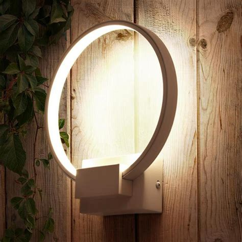 post modern led ring l luminaire bedside balcony aisle