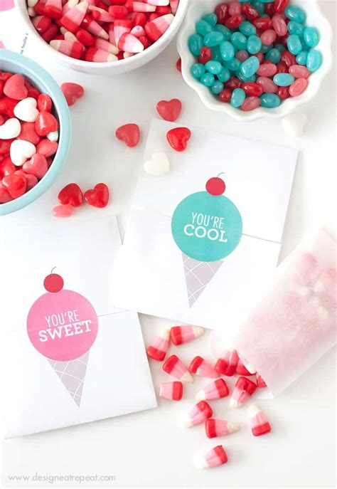 Love Boat Ice Cream Gift Card by Michelle Paige Blogs 10 Ice Cream Printable Valentines