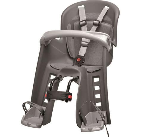 siege velo avant polisport bilby junior porte bébé fixation avant gris