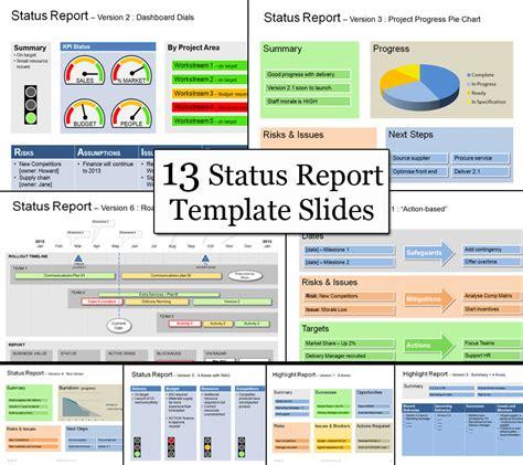 status template  clear successful  status reports