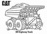 Coloring Caterpillar Truck Colorir Estrada Fora Printables Highway Birthday Pesa sketch template