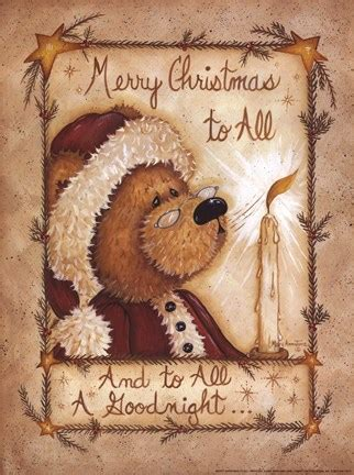 merry christmas   fine art print  mary ann june