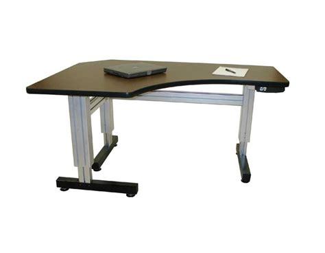 motorized adjustable height desk image gallery motorized adjustable height workstation