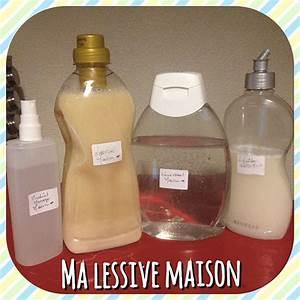 La Maison Du Bicarbonate : faire sa lessive maison avec du savon de marseille du bicarbonate de soude et de l 39 huile ~ Melissatoandfro.com Idées de Décoration
